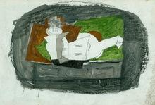 Georges BRAQUE - Disegno Acquarello - Nature Morte (Sold)