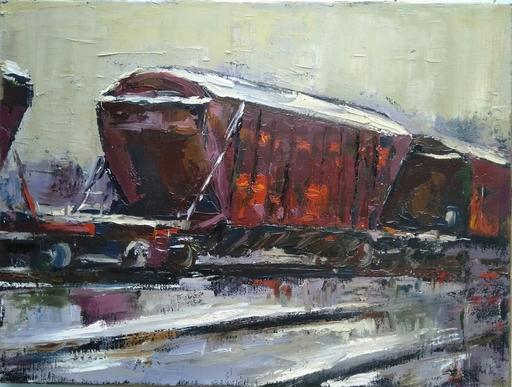 Ohanyan KAMSAR - Pittura - Carriage