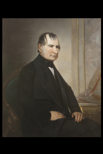 Adeodato MALATESTA - Painting - Portrait of Massimo Giuseppe d'Asburgo d'Este