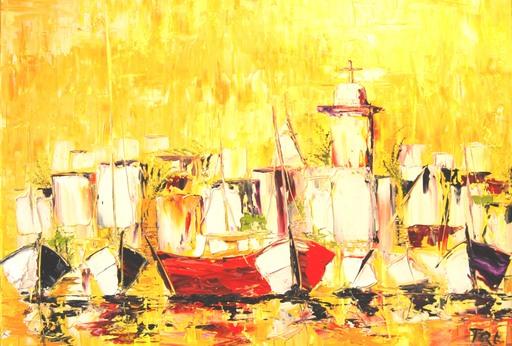 Serge Louis TUQUET - Painting - 795- Saint Marin