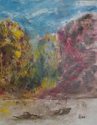 Kyna DE SCHOUEL - Peinture - Le Saule