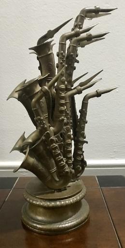 Fernandez ARMAN - Sculpture-Volume - Saxophones