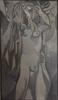 Jean Georges CHAPE - Painting - Baigneuse se coiffant
