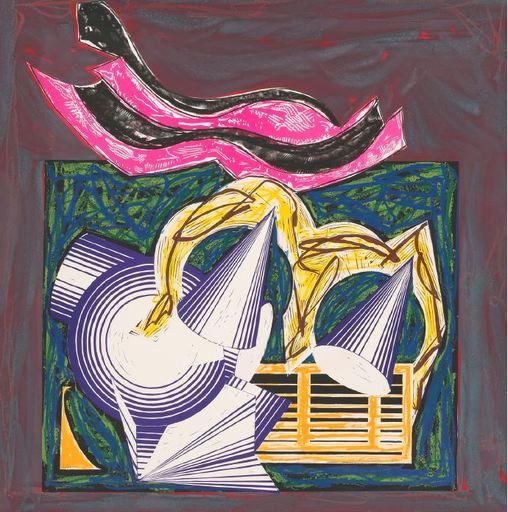 弗兰克•斯特拉 - 绘画 - Illustrations after El Lissitzky's 'Had Gadya' - CTP