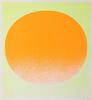 Rupprecht GEIGER - Grabado - orange auf gelb