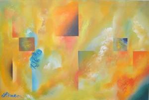 Romeo DOBROTA - Painting - Cubism,