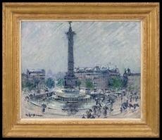 Gustave LOISEAU - Pintura - Place de la Bastille