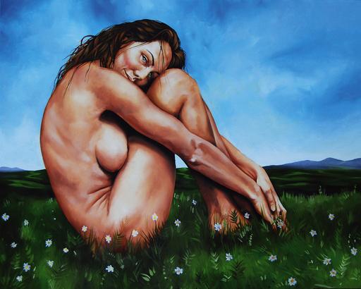 Igor VERRILLI - Painting - La regina delle farfalle