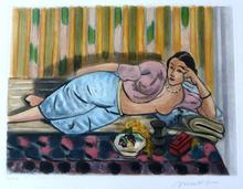 Henri MATISSE (1869-1954) - Odalisque au Coffret Rouge