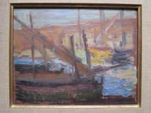 Henri PERSON - Pintura - LE PORT DE SAINT TROPEZ