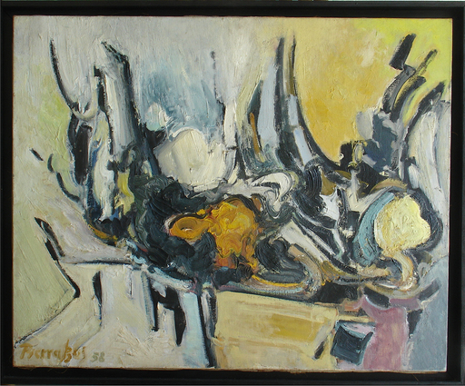 Alkis PIERRAKOS - Gemälde - Composition