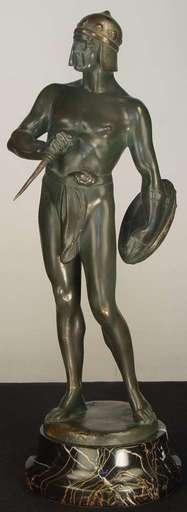 Bruno ZACH - Escultura - Gladiator