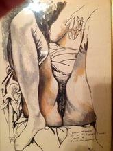 Renato GUTTUSO - Painting - Guanciale del Guerriero