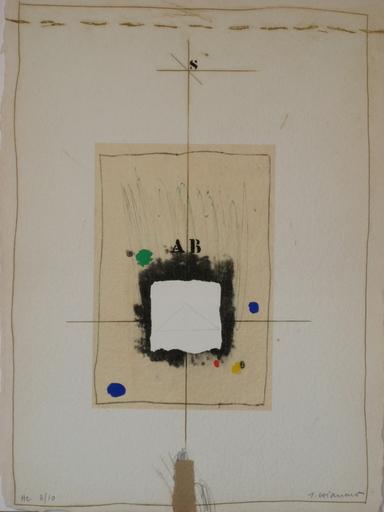 James COIGNARD - Estampe-Multiple - GRAVURE REHAUSSÉE SIGNÉE AU CRAYON NUM/10 HANDSIGNED ETCHING