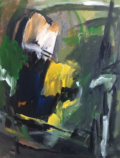 Irène DARGET-BASTIEN - Painting - OLZO