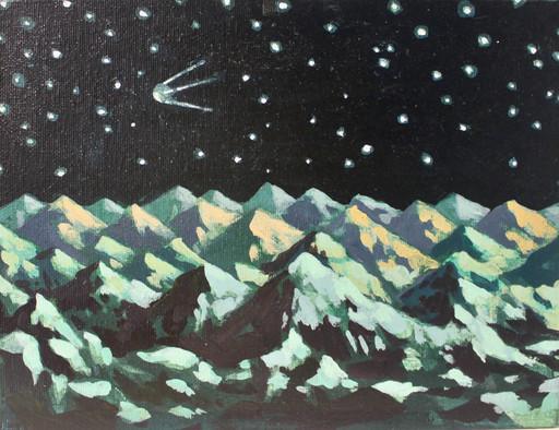 Damir MURATOV - Painting - Satellite