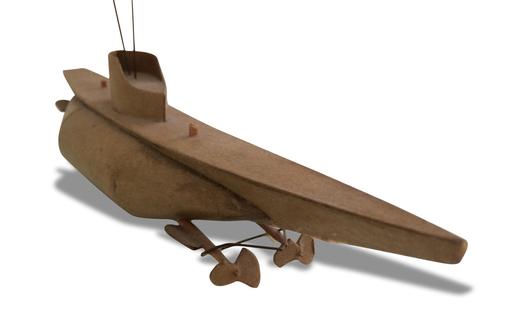 Chris BURDEN - Sculpture-Volume - Submarine