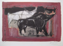 Constantin ANDREOU - Radierung Multiple - LITHOGRAPHIE SIGNÉE CRAYON NUM/100 HANDSIGNED LITHOGRAPH