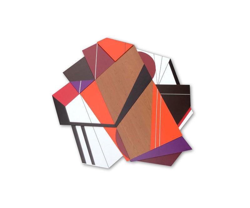 Scott TROXEL - Skulptur Volumen - Achtung III