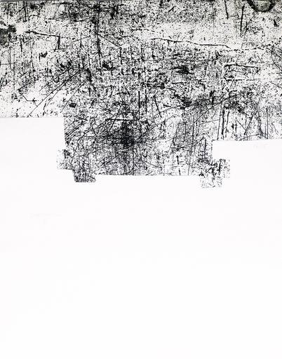 Eduardo CHILLIDA - Print-Multiple - Une helene de vent ou fumee III