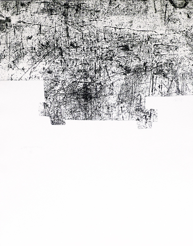 Eduardo CHILLIDA - Stampa-Multiplo - Une helene de vent ou fumee III