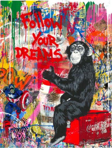 MR BRAINWASH - Pintura - Everyday Life