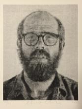 Chuck CLOSE - Photo - Self portrait