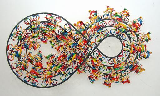 大衛•葛爾斯坦 - 雕塑 - Infinity Ralley