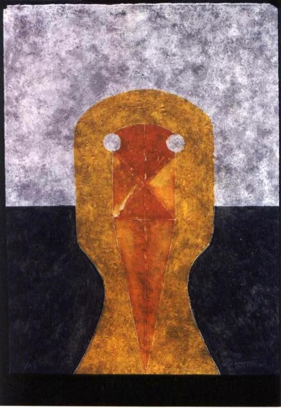 Rufino TAMAYO - Print-Multiple - *Cabeza En Ocre