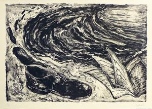 Miquel BARCELO - Print-Multiple - La chaussure