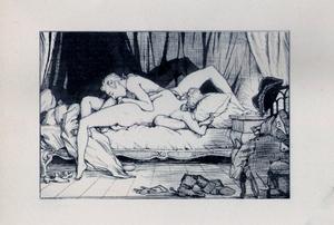 Konstantin Andreevic SOMOV - Drawing-Watercolor - casanova