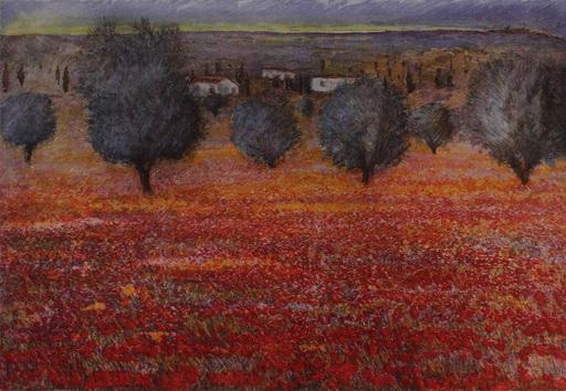 Michele CASCELLA - Estampe-Multiple - Paesaggio