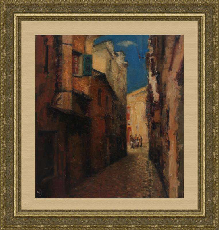Levan URUSHADZE - Gemälde - Old town