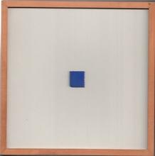 Yves KLEIN (1928-1962) - Timbre Bleu