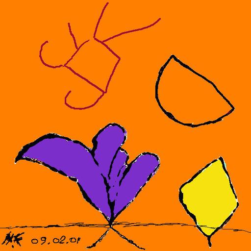 Harry BARTLETT FENNEY - Audiovisual-Multimedia - primary essentials 2(digi drawing 2001)