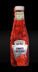 """F&G - Escultura - Bottle Hot Tomatoes """"Wake up"""""""