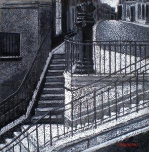 Carlo MAIOLINI - Peinture - Sur la Butte