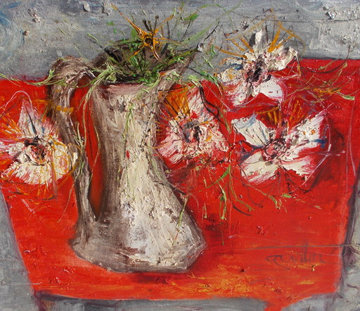 Jean Marie GOUTTIN - Pintura - Nature morte