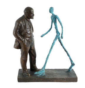 Leonid sokov meeting of two sculptures poem