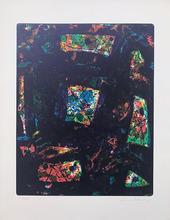 山姆•弗朗西斯 - 版画 - Composition SF 174