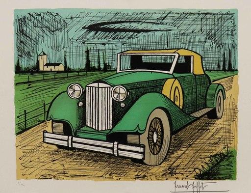 Bernard BUFFET - Druckgrafik-Multiple - Packard 1934 verte