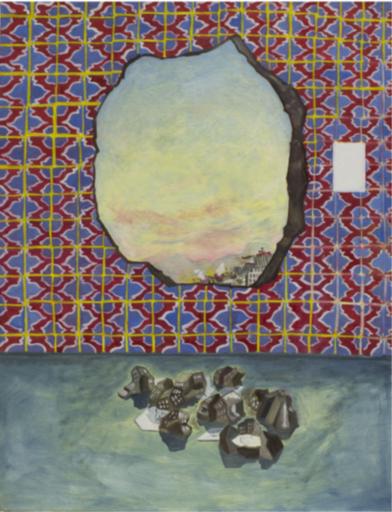 Martin FAURE - Pittura - «Vue sur le ciel»