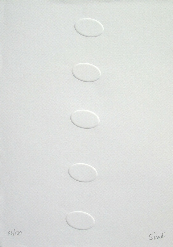 Turi SIMETI - Estampe-Multiple - Elogio dell'ombra