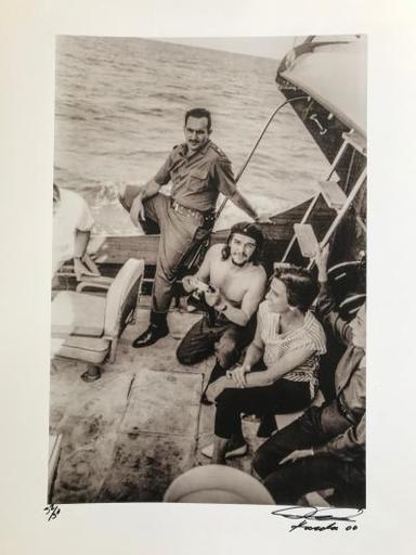 Alberto KORDA - Photography - Che Guevarra - Hemingway Fishing Trophy