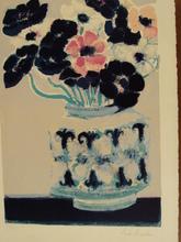 安德烈·布拉吉利 - 版画 - Bouquet d'Anémones,1965.