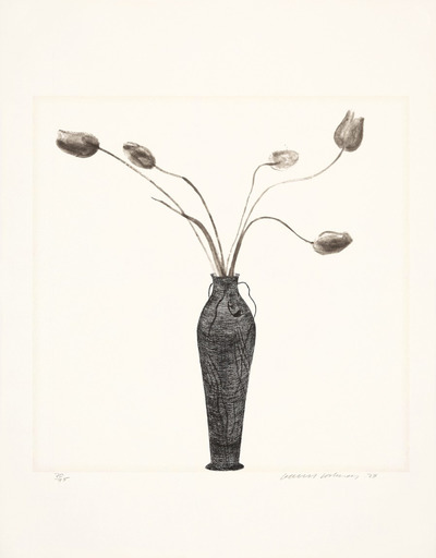 David HOCKNEY - Estampe-Multiple - Tulips