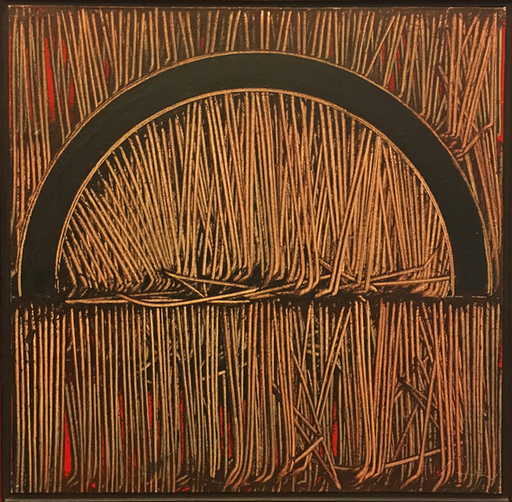 """Emilio SCANAVINO - Painting - """"Tramatura"""""""