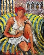 Valerio BETTA - Painting - Maternità