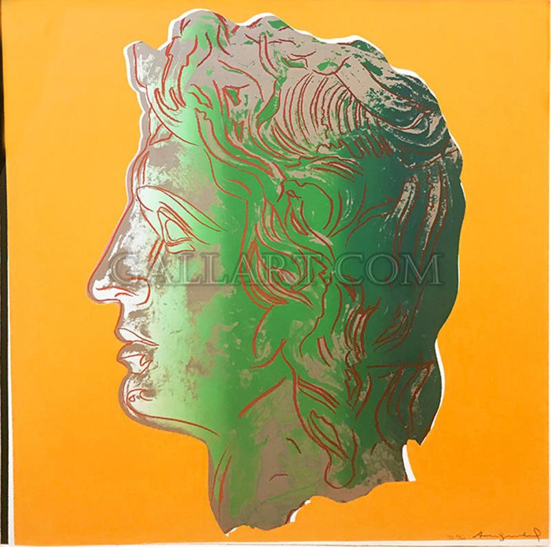 Andy WARHOL - Grabado - Alexander the Great FS II.291