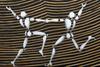Jérôme MESNAGER - Pintura - Ondes Dansantes (Réf 64)